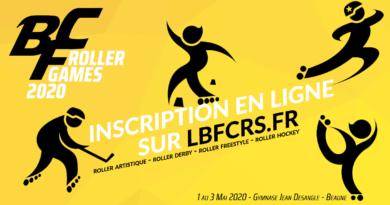 Inscription BFC Roller Games